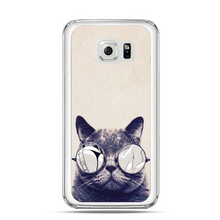 Etui na Galaxy S6 Edge Kot w okularach