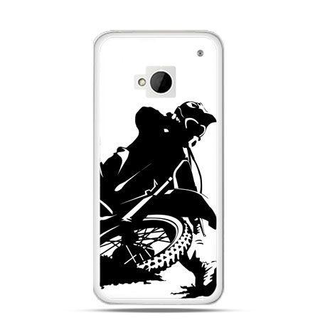 Etui na HTC One M7 Motocykl cross