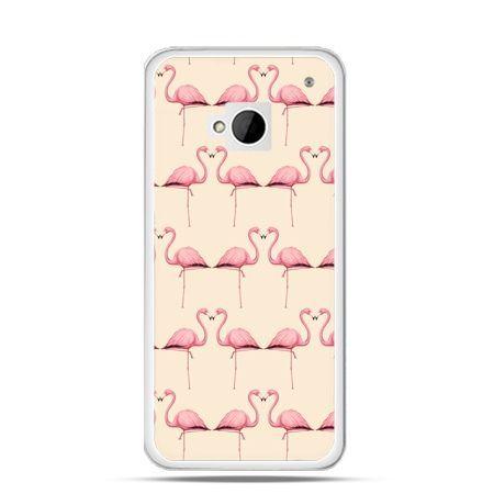 Etui na HTC One M7 Flamingi