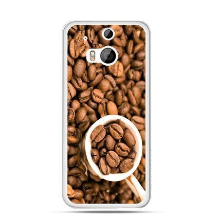 Etui na HTC One M8 kubek z kawą