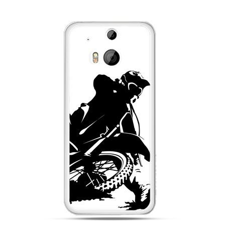 Etui na HTC One M8 Motocykl cross