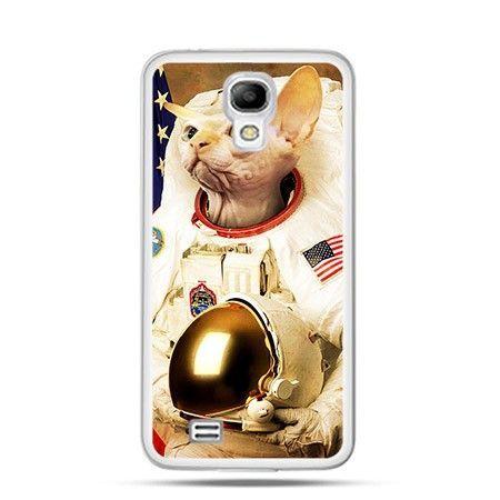 Etui płonący kosmonauta Samsung S4 mini