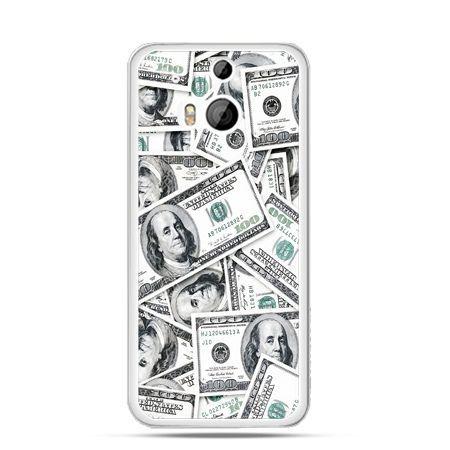 Etui na HTC One M8 dolary banknoty