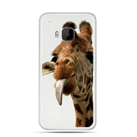 Etui na HTC One M9 żyrafa z językiem