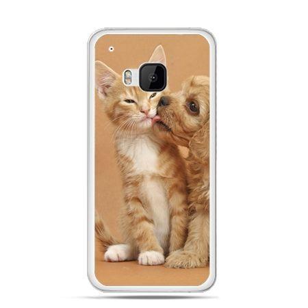 Etui na HTC One M9 Jak pies i kot