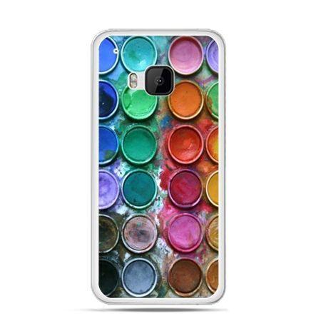Etui na HTC One M9 Kolorowe farbki