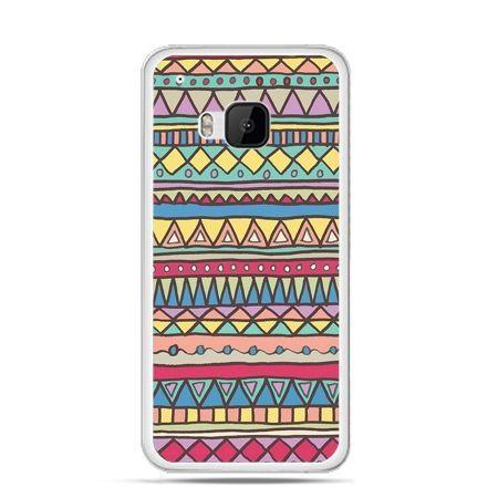 Etui na HTC One M9 Azteckie wzory