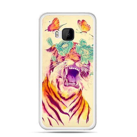 Etui na HTC One M9 Egzotyczny tygrys