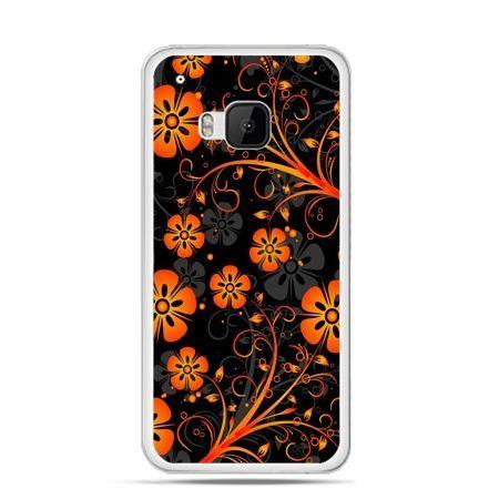 Etui na HTC One M9 Nocne kwiaty