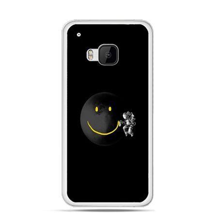 Etui na HTC One M9 Uśmiechnięta planeta