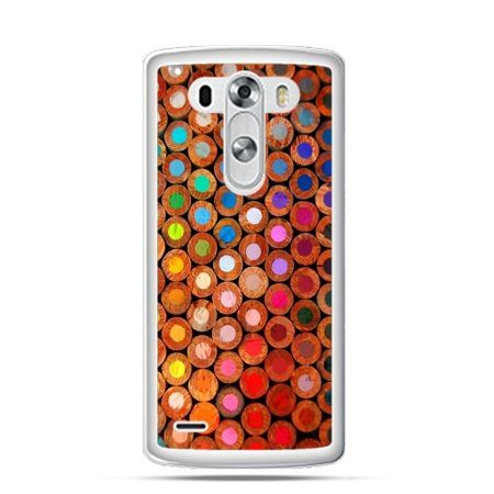 Etui na LG G3 Kolorowe kredki
