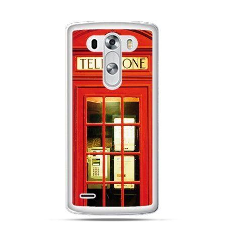 Etui na LG G3 Czerwona budka telefoniczna