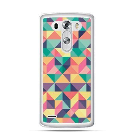 Etui na LG G3 Kolorowe trójkąty