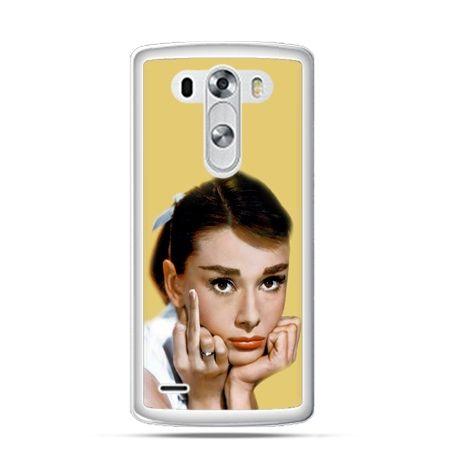 Etui na LG G3 Audrey Hepburn Fuck You