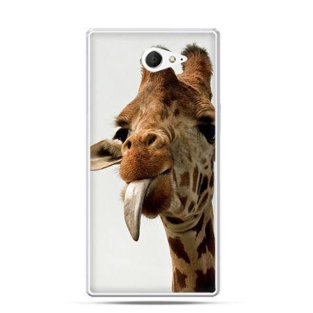 Sony Xperia M2 etui żyrafa z językiem