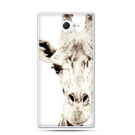 Sony Xperia M2 etui żyrafa