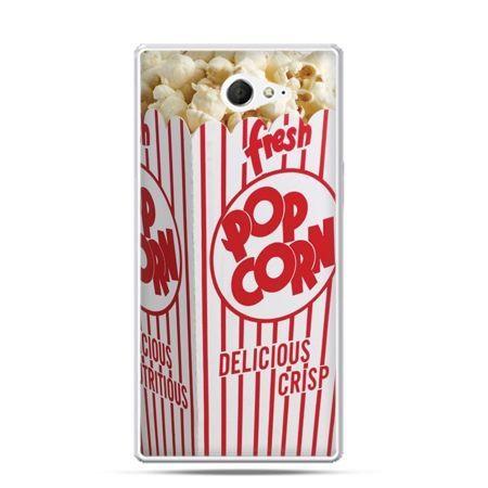 Sony Xperia M2 etui popcorn