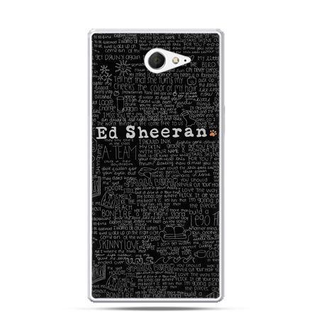 Sony Xperia M2 etui Ed Sheeran czarny