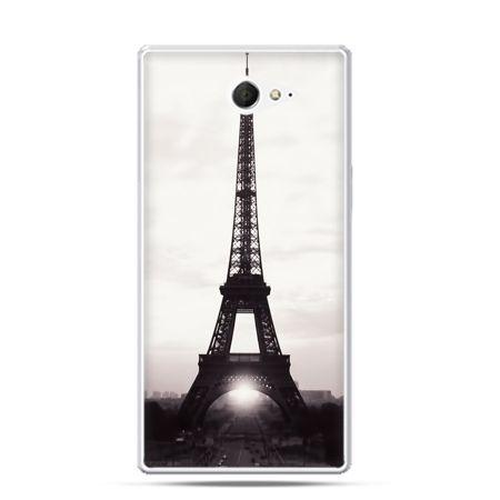 Sony Xperia M2 etui wieża Eiffla
