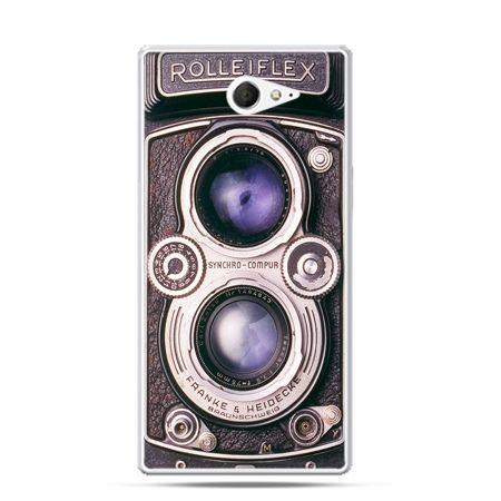 Sony Xperia M2 etui aparat Rolleiflex
