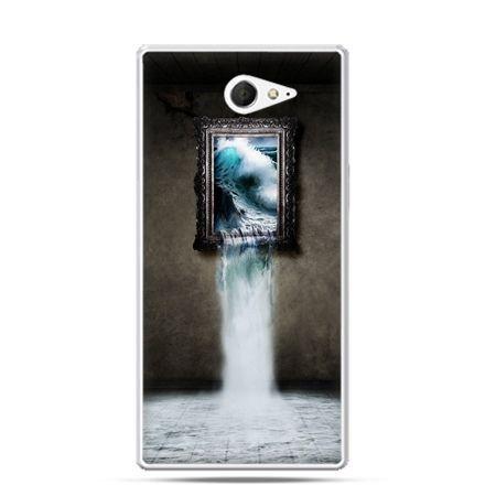 Sony Xperia M2 etui obraz wodospad