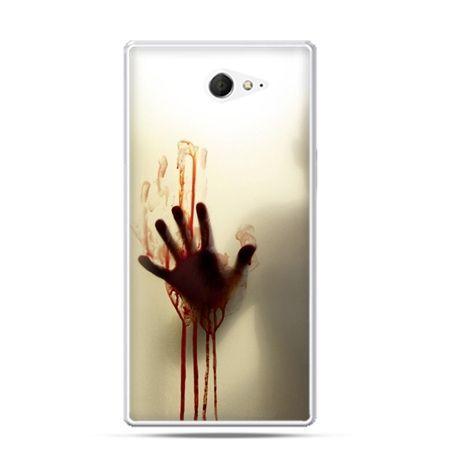 Sony Xperia M2 etui ręka zombie