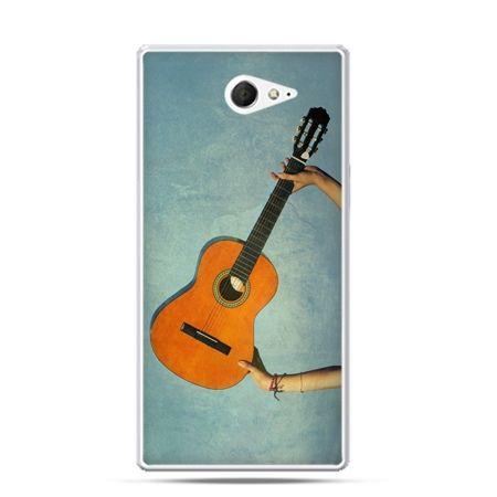 Sony Xperia M2 etui gitara
