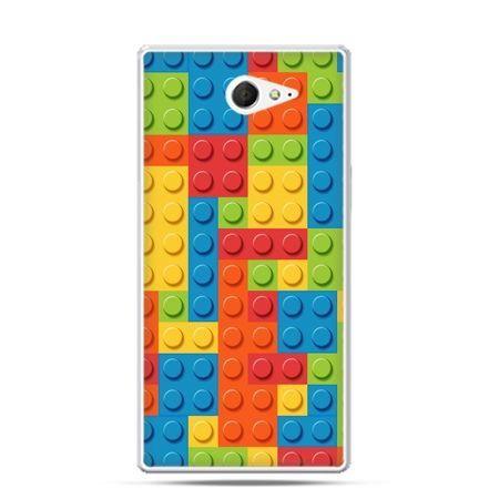 Sony Xperia M2 etui klocki lego