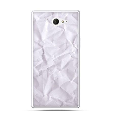 Sony Xperia M2 etui kartka papieru