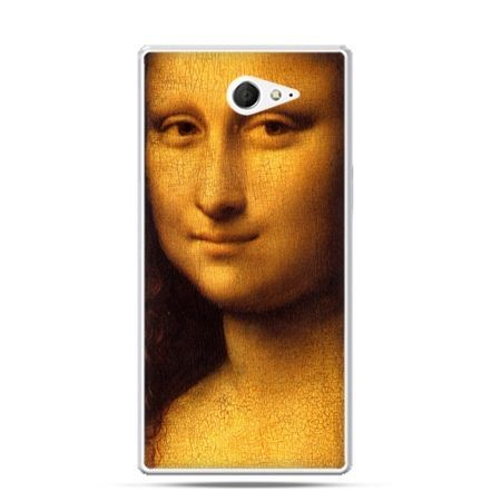 Sony Xperia M2 etui Mona Lisa