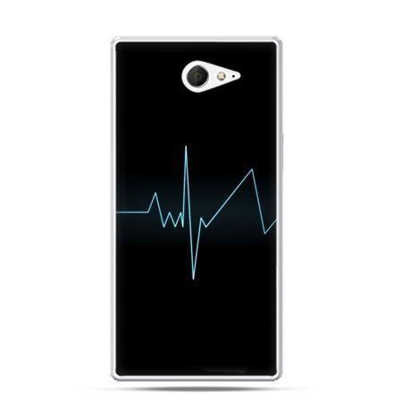 Sony Xperia M2 etui linia życia