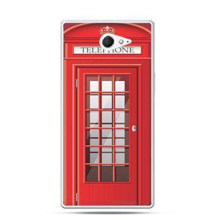 Sony Xperia M2 etui budka telefoniczna czerwona
