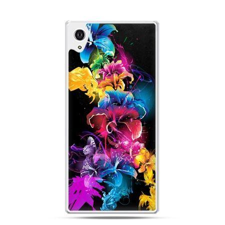 Etui Sony Xperia Z3 bajkowe kwiaty