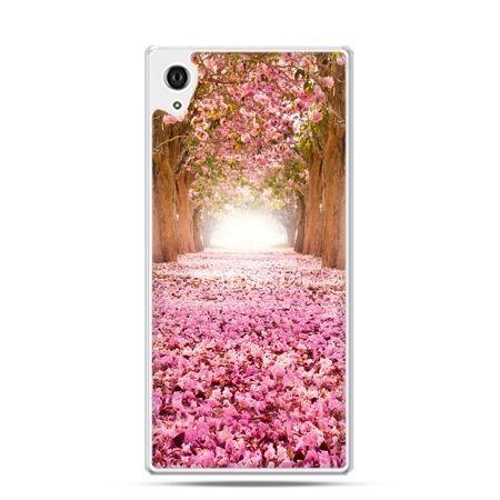 Etui Sony Xperia Z3 różowy park