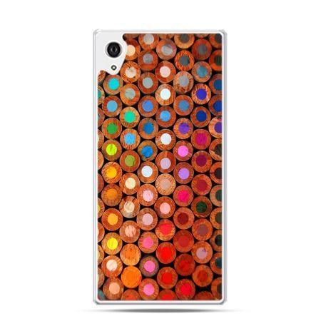 Etui Sony Xperia Z3 kolorowe kredki