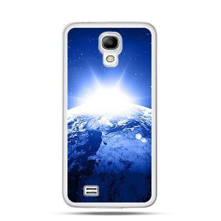 Etui fioletowa wieża Samsung S4 mini