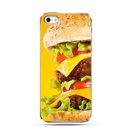 iPhone 4, 4s etui pyszny hamburger - PROMOCJA !