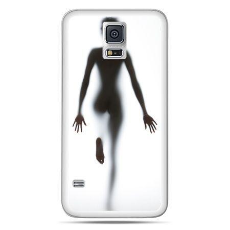 Galaxy S5 Neo etui kobieta za szybą