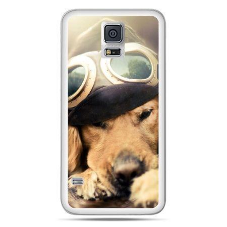 Galaxy S5 Neo etui pies w okularach