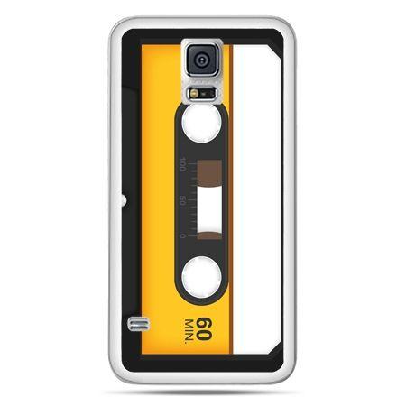 Galaxy S5 Neo etui kaseta magnetofonowa