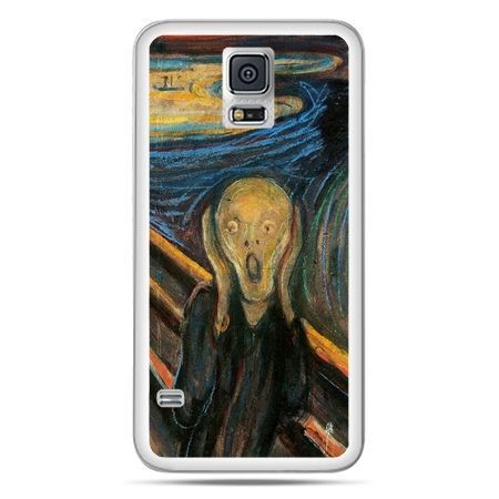 Galaxy S5 Neo etui Krzyk Munka