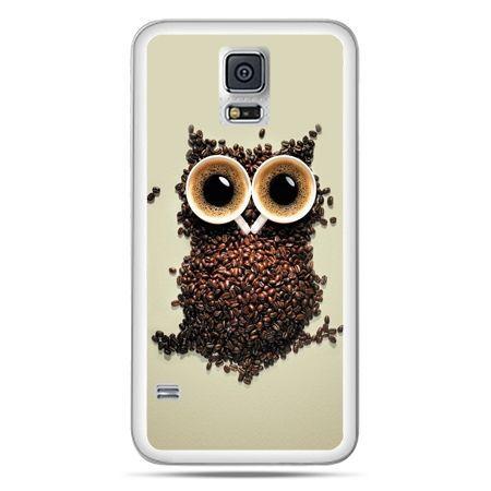 Galaxy S5 Neo etui Kawa sowa