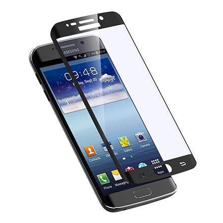 Galaxy S6 Edge+ Plus Czarne Hartowane szkło na cały ekran