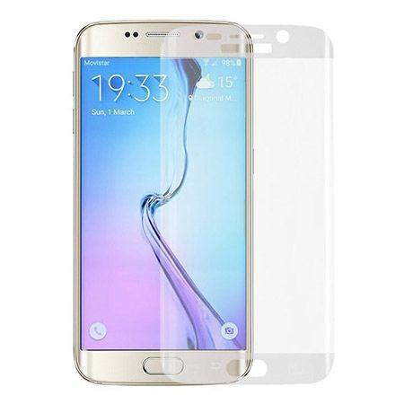 Galaxy S6 Edge Bezbarwne hartowane szkło na cały ekran.