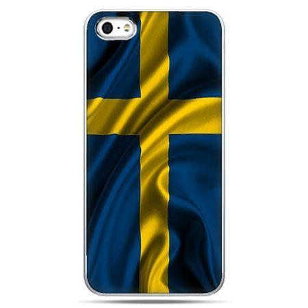 Etui na telefon flaga Szwecji.