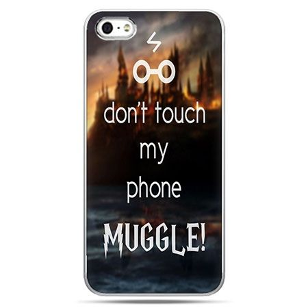 Etui na telefon Don`t touch...Muggle Harry Potter.