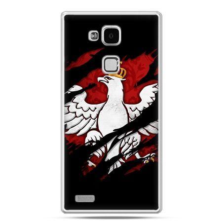 Etui na telefon Huawei Mate 7 patriotyczne - Polski Orzeł