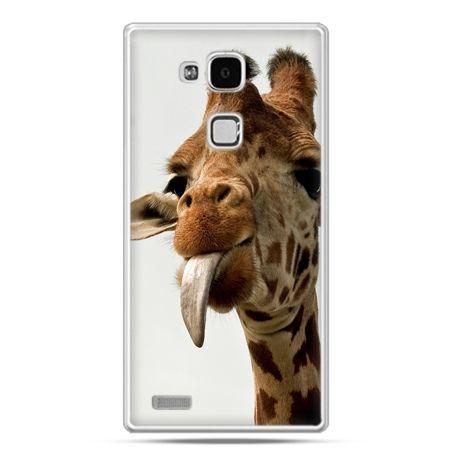 Etui na Huawei Mate 7 żyrafa z językiem