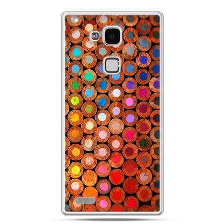 Etui na Huawei Mate 7 kolorowe kredki