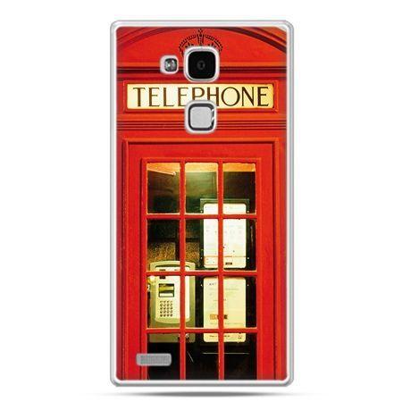 Etui na Huawei Mate 7 czerwona budka telefoniczna